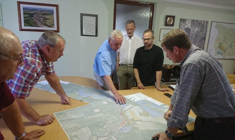Ein Gefahrenzonenplan für die Gemeinde Seefeld-Kadolz