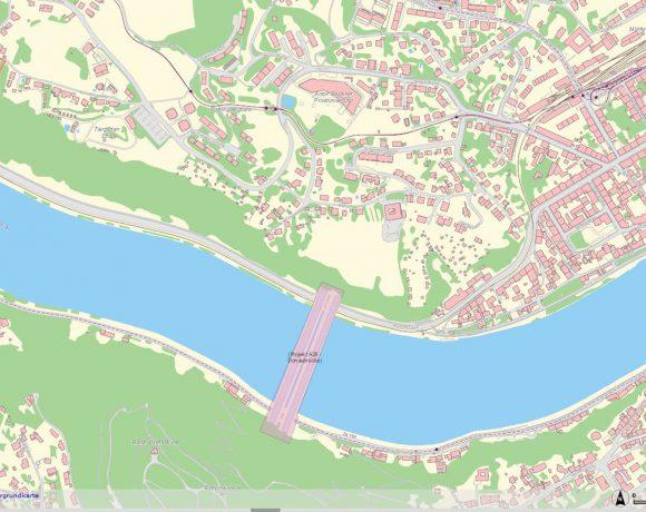 Hochwasseralarmplanung für die Errichtung der A26 – Donaubrücke