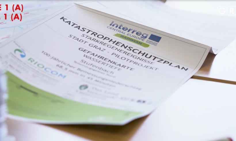 RAINMAN – Katastrophenschutz für Europa und die Stadt Graz