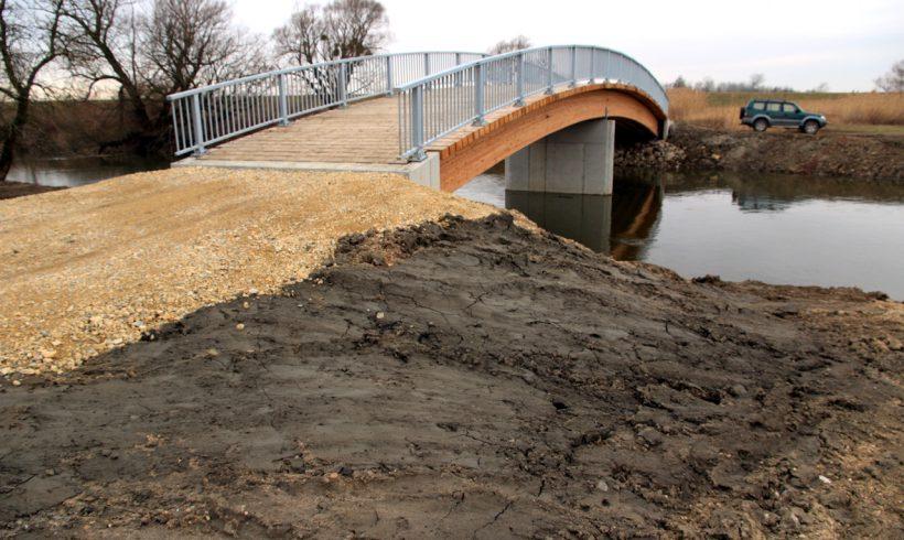 """LIFE+ """"Untere March-Auen"""" – Fertigstellung der Brückenbauwerke"""
