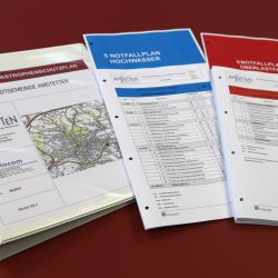 "The ""special disaster control plan flood"" consists of several parts and contains comprehensive information for flood events."