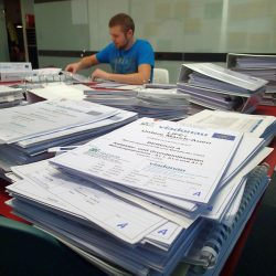 Composition of the comprehensive project documents for the submission